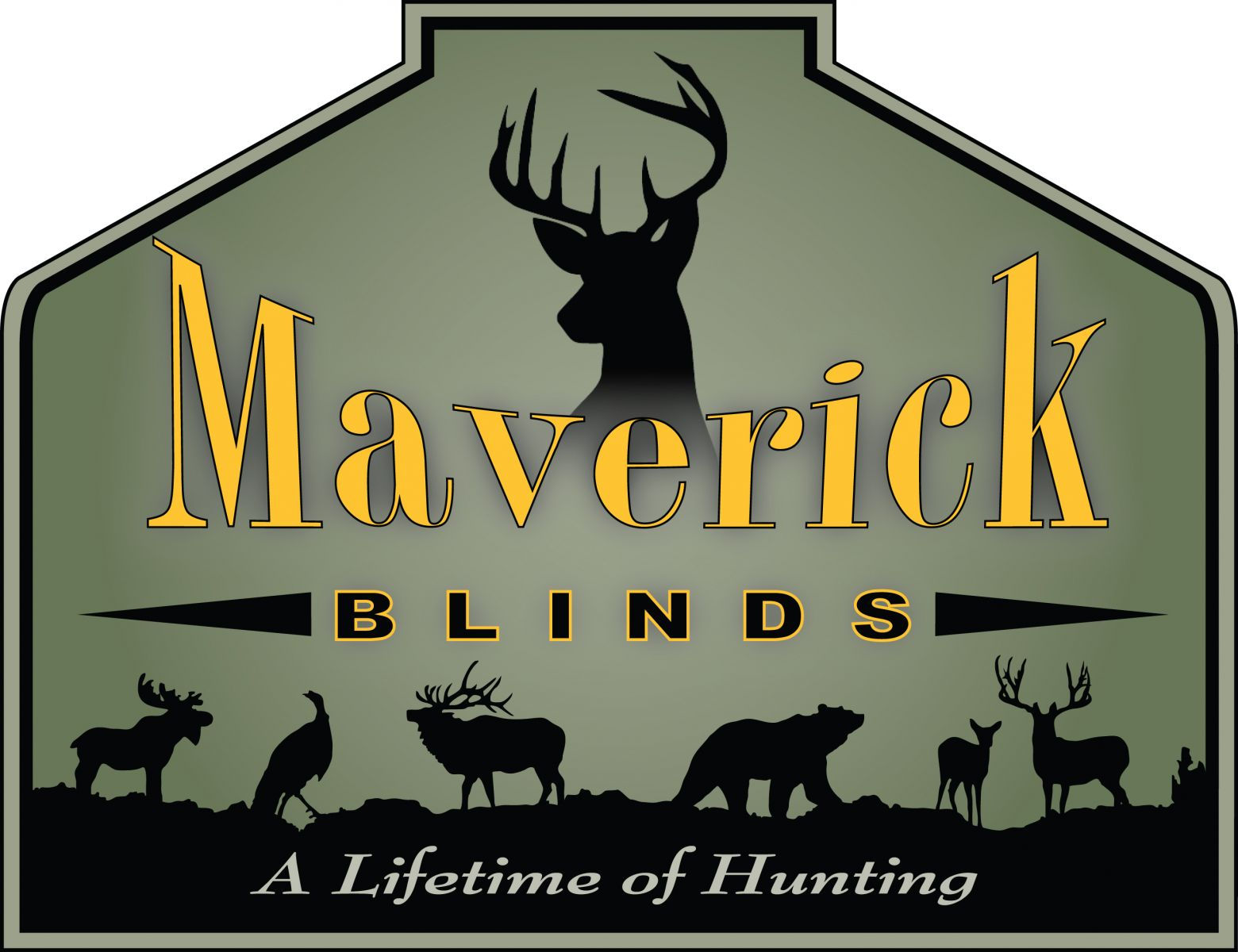bow best the blind ladder dakota blinds figure spool maverick cable ground with south whitetails on hunting