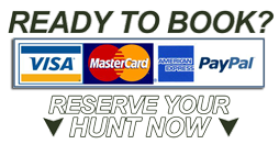 Reserve your Hunt Online
